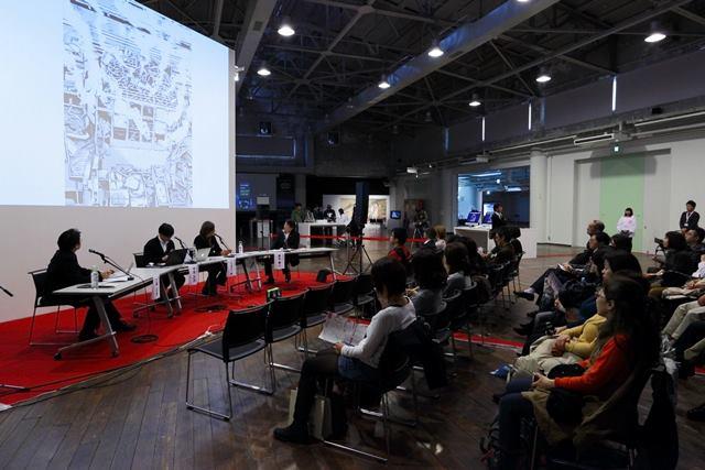 文化庁メディア芸術祭神戸展シンポ